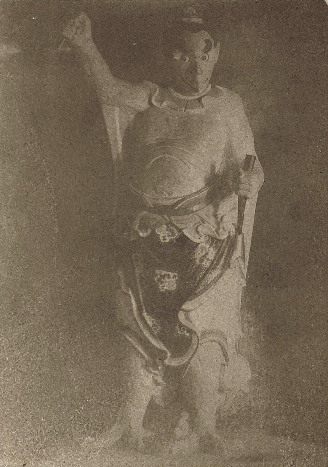 1898. Китай, г. Талиенван. «Китайские божества» (буддийская скульптура)