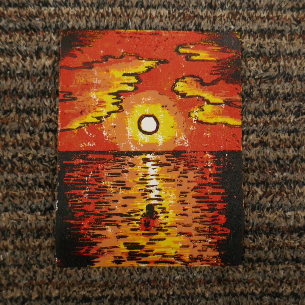MerMay2020 Day 3: Sunset