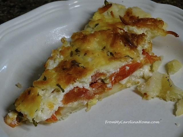 Tomato Pie at FromMyCarolinaHome.com