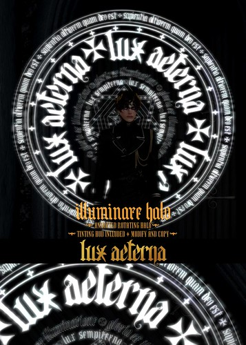 "LUX AETERNA ""Illuminare Halo"" @ We Love Roleplay 10L Gift"