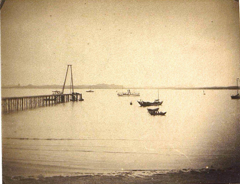 1898. Китай, г. Талиенван. Пристань