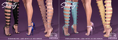 "Phedora For Kinky Event ~ ""Shanty"" Gladiator Heels ♥"