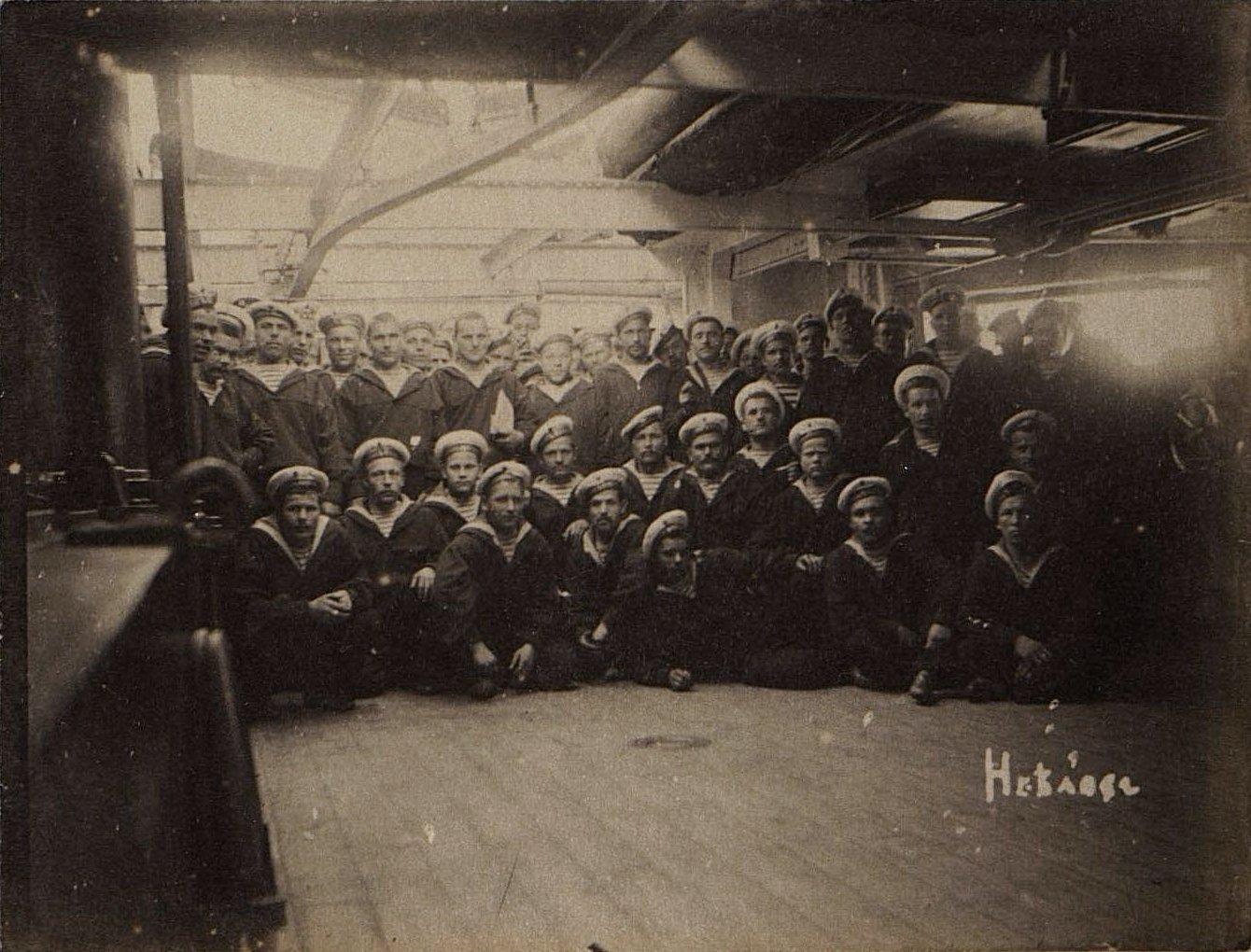 1898. Часть команды крейсера «Владимир Мономах»
