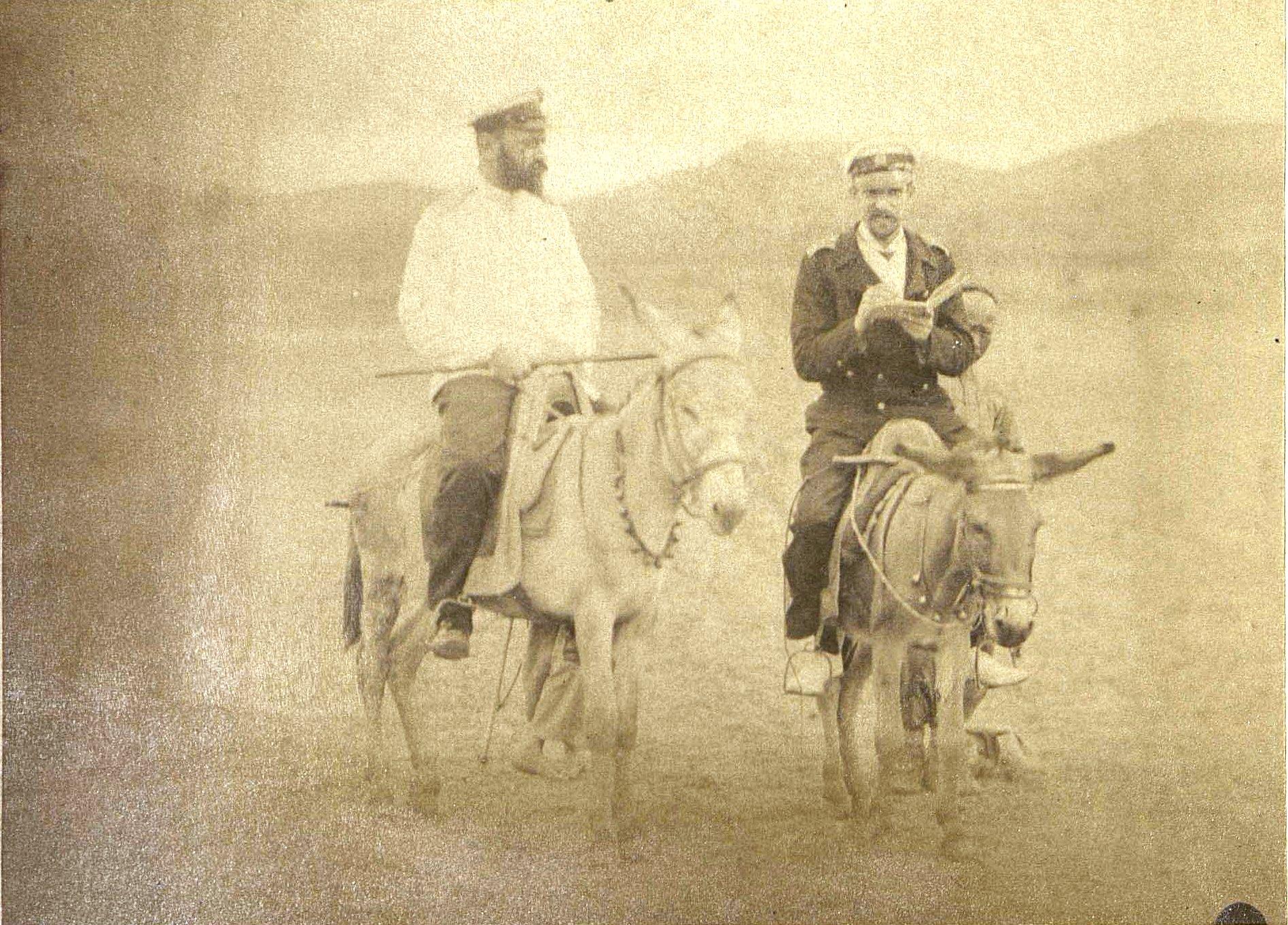 1898. «Хождение на осляти»