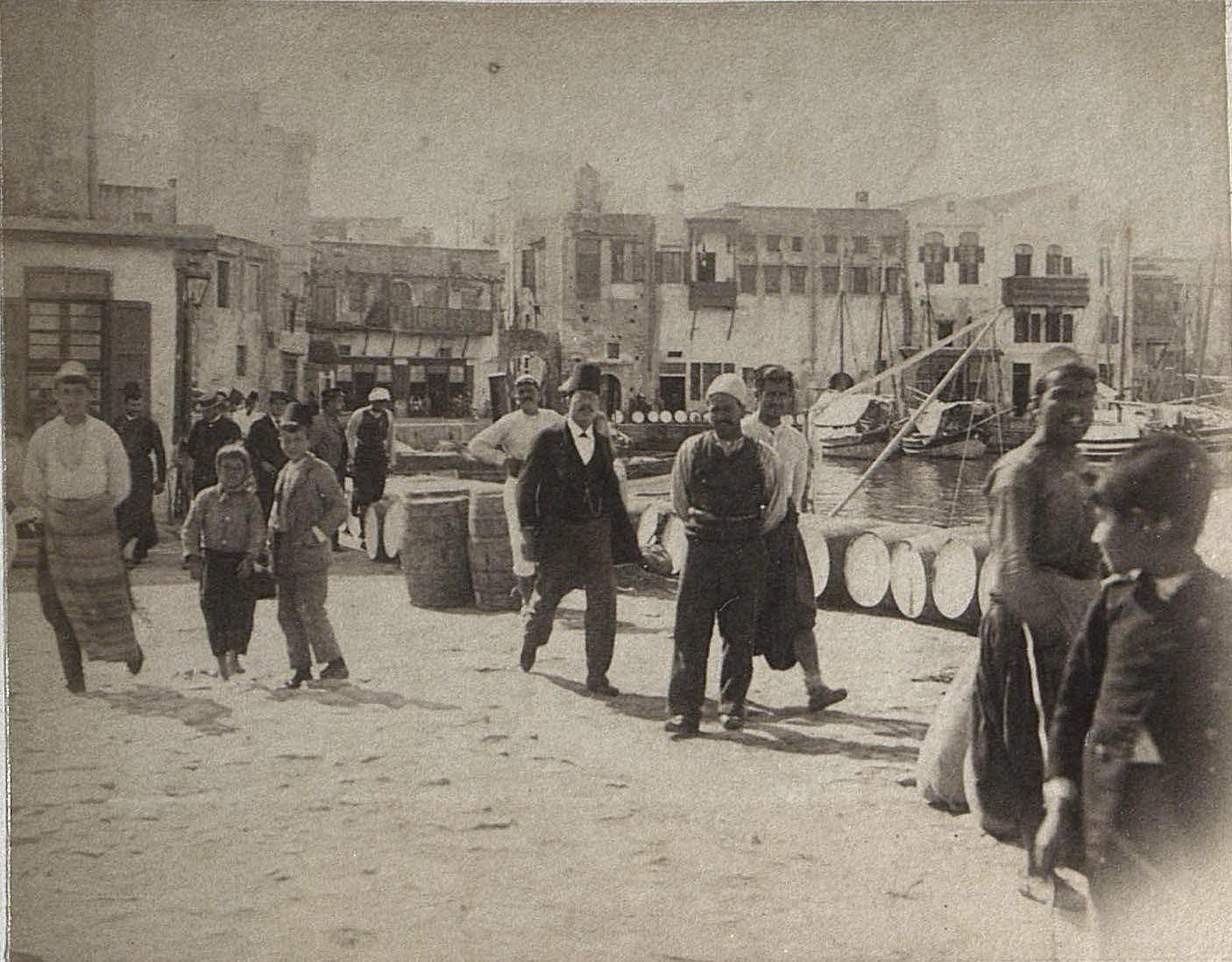 1897. Алжир. На пристани