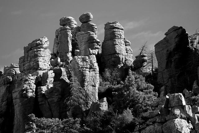 Craggy Solitude:  Arizona's Chiricahua Mountains
