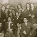 Nazem al-Ghazali with his band and others - Baghdad 1947