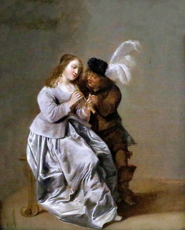 IMG_3163F Dirck Hals. 1591-1656. Haarlem.  La leçon de musique. The music lesson. 1646.  Hannover. Landesmuseum.