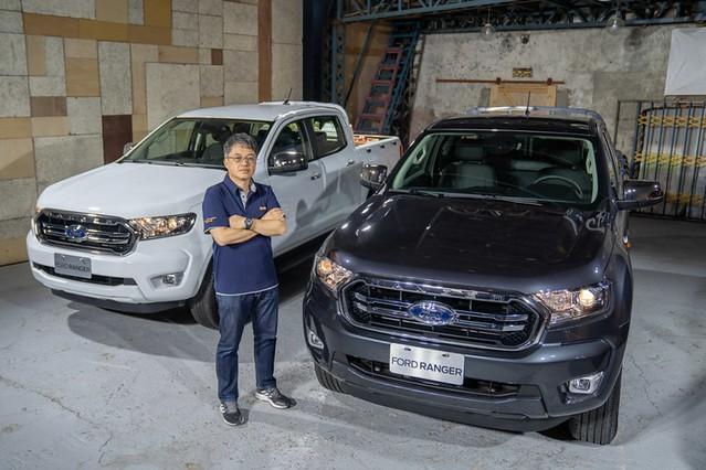 【圖二】)台灣市場皮卡領導品牌Ford推出New Ford Ranger職人型/全能型,提供專業工作者最理想的事業夥伴