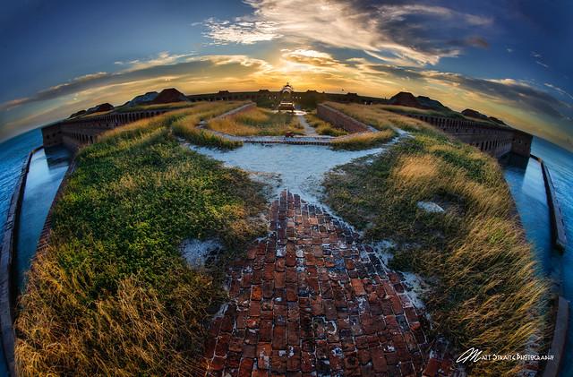 Dry Tortugas- Fishy Sunset
