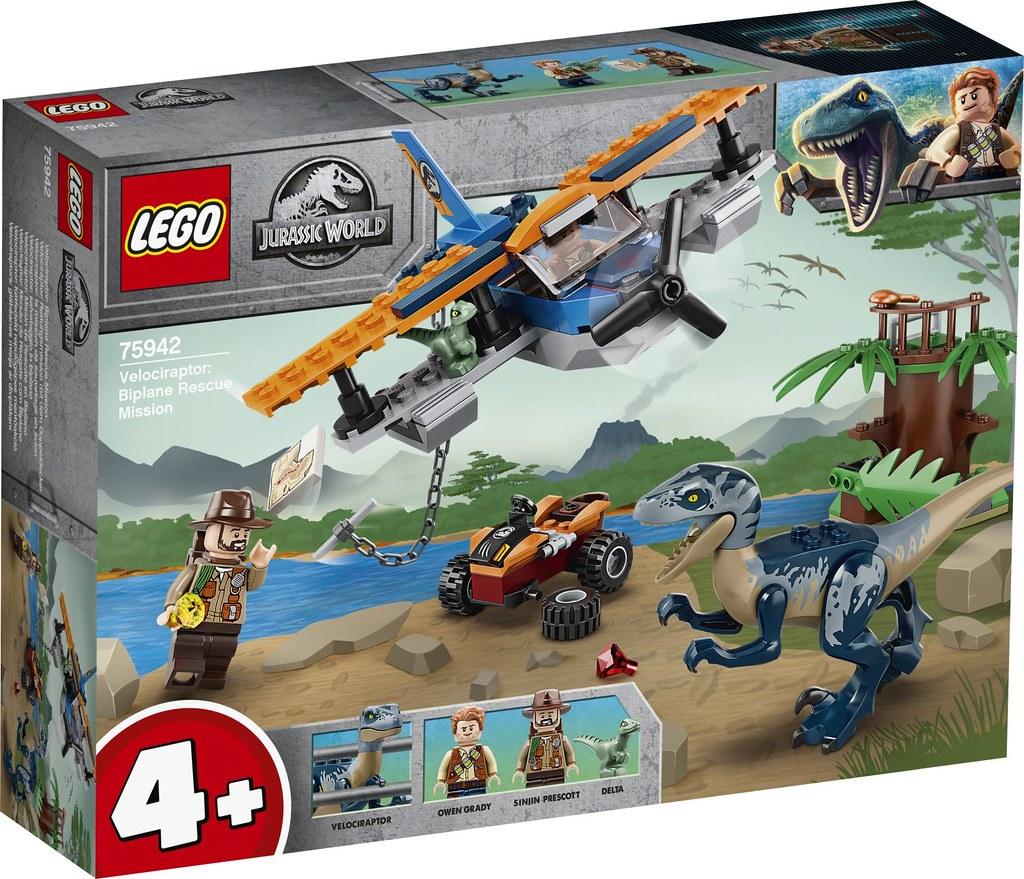 讓你再次入手兇狠的「帝王暴龍」! LEGO 75939~75942《侏羅紀世界》2020 下半年四款盒組公開(LEGO Jurassic World 2020 Summer Sets)