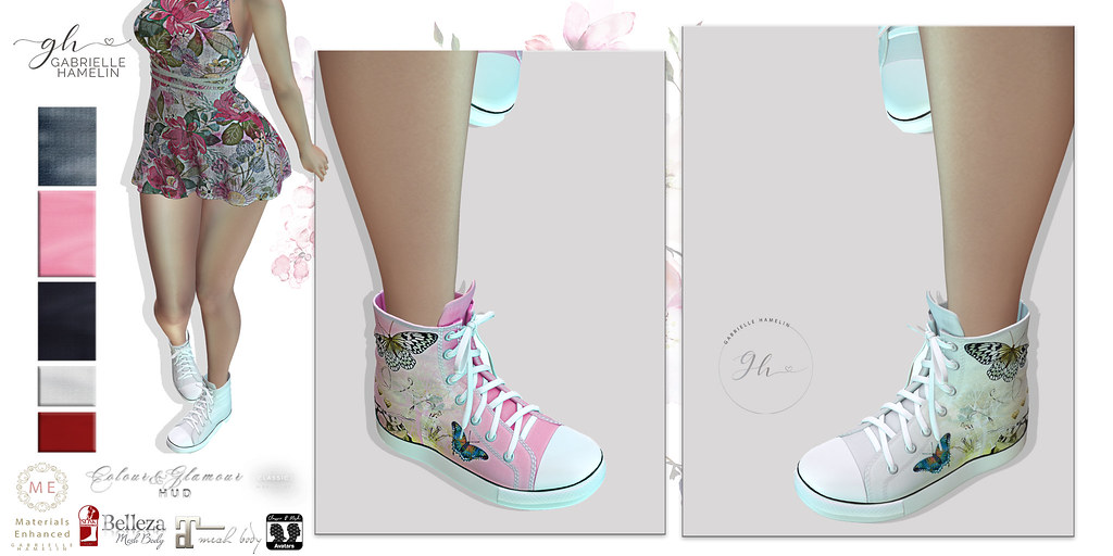 Glamour-Sneakers-Poster