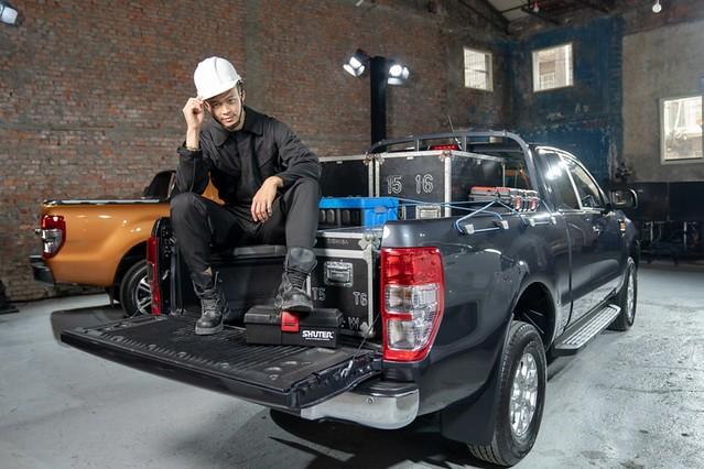 【圖六】New Ford Ranger職人型車斗具備約2.88平方公尺的載物面積,最大載重提升至1,125公斤