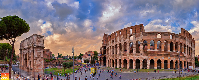 The Great Square of the Colosseum
