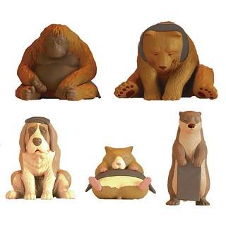 更多動物加入超酥湖的療癒三溫暖~GASHAPON「三溫暖動物2」第二彈轉蛋(どうぶつサウナ2)全五款