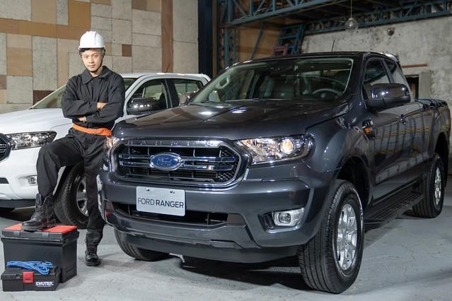 【圖三】New Ford Ranger職人型,在百萬級距提供重視專業形象的台灣職人最理想的事業夥伴