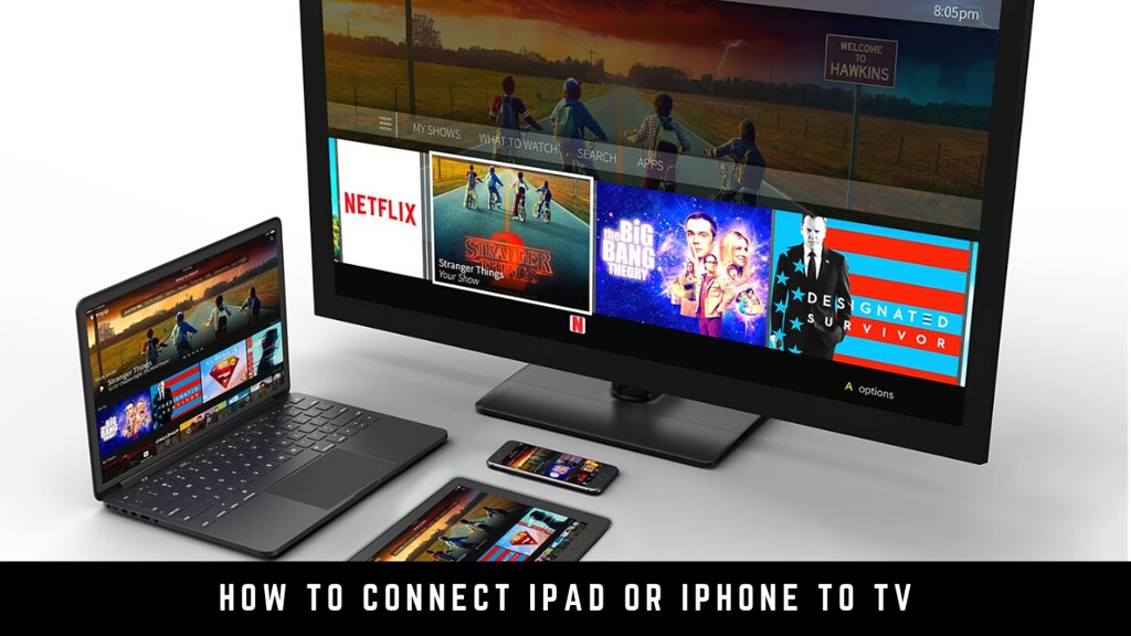 How to connect iPad or iPhone to TV