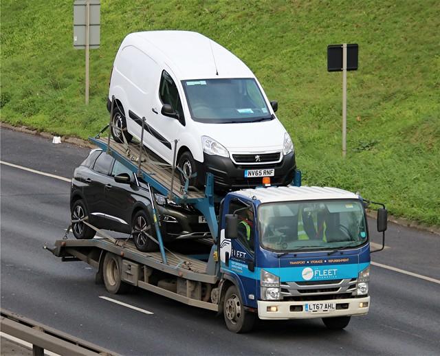 Fleet Automotive - LT67 AHL on the A102 31-01-20