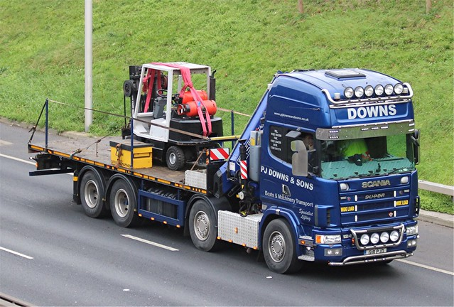 Downs - G18 PJD(02) on the A102 31-01-20