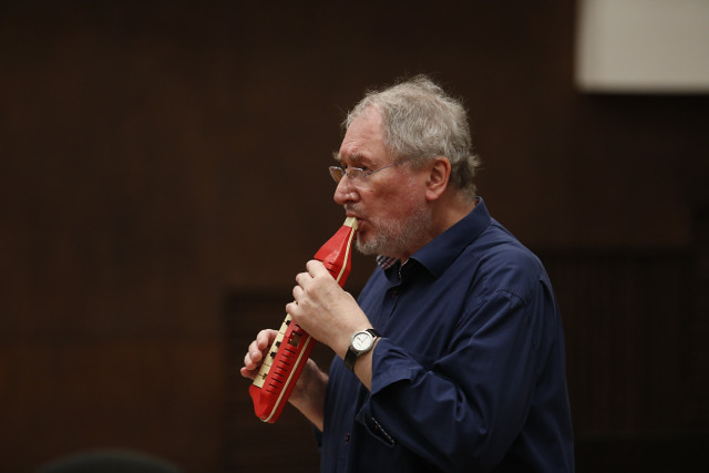 HK Gruber u Filharmoniji