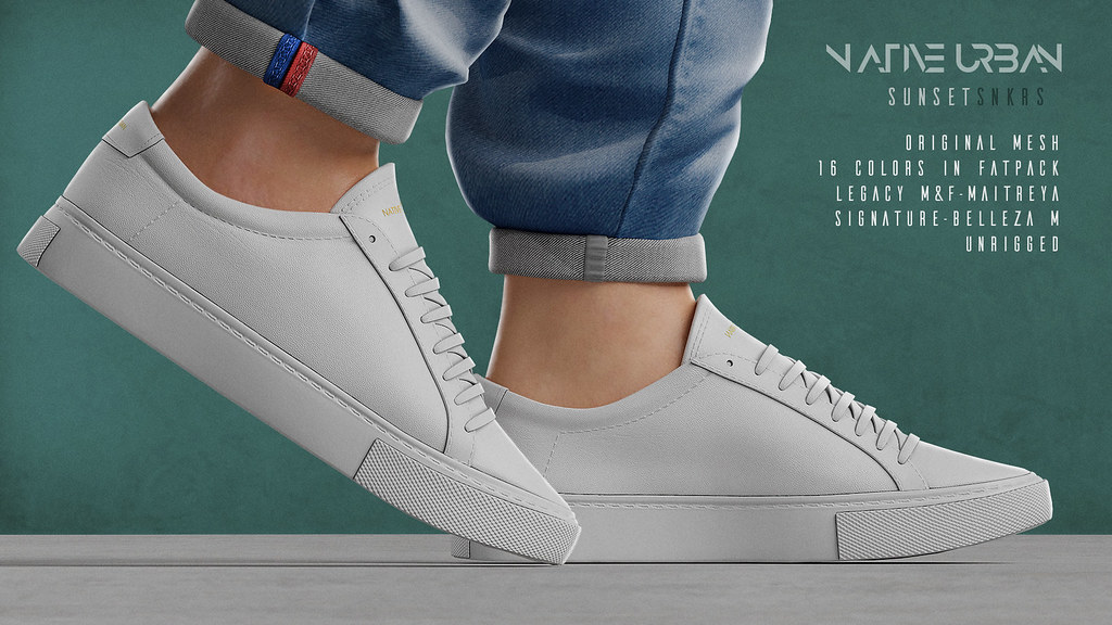 NATIVE URBAN – Sunset Sneakers (Giave away on)