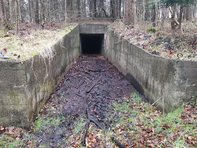 Atlantikwall Regelbau S174 - Heavy Ammunition depot Bunker for 38/40,6cm battery