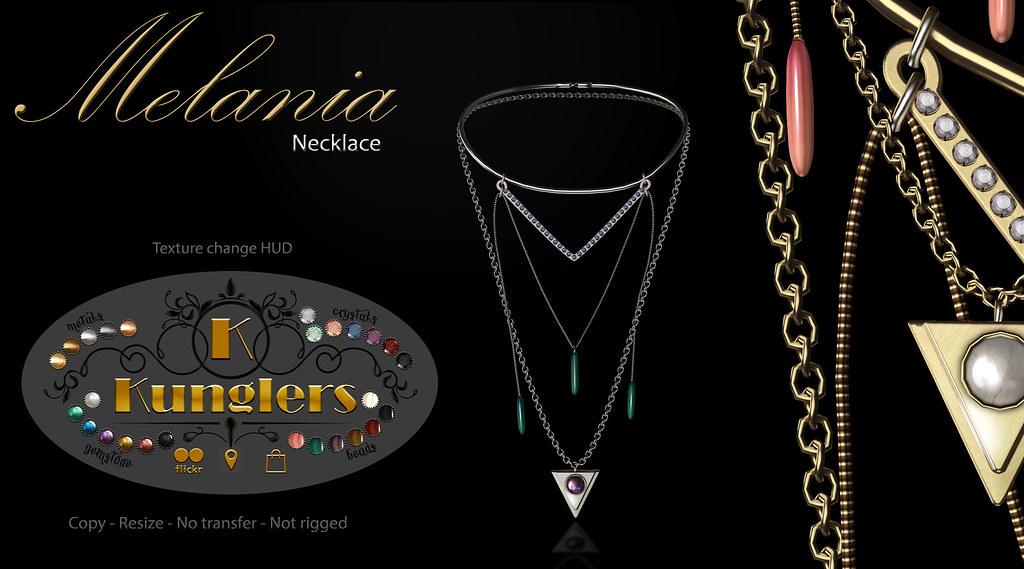 KUNGLERS - Melania necklace