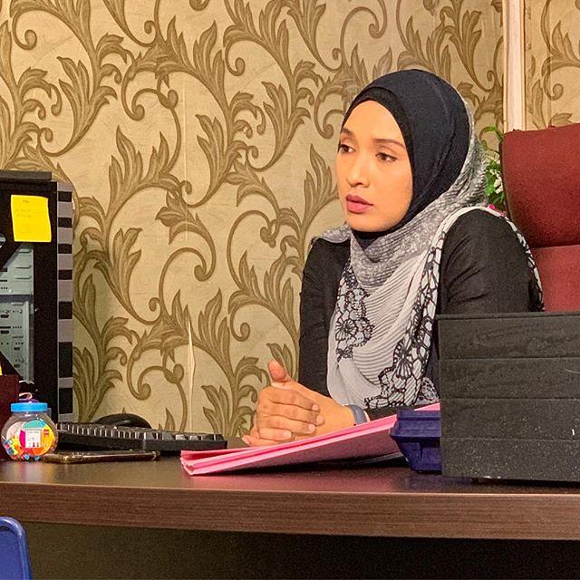 watak Nurul Najwa lakonan Vanidah Imran
