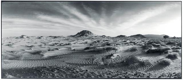 am Rand der Wahiba-Wüste, Oman 2001