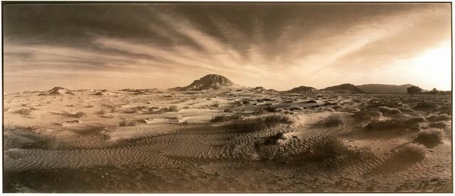 am Rand der Wahiba-Wüste, Oman 2001 - redev.