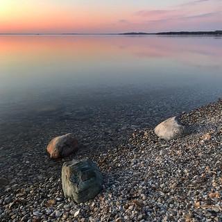 Three Rocks at Dawn