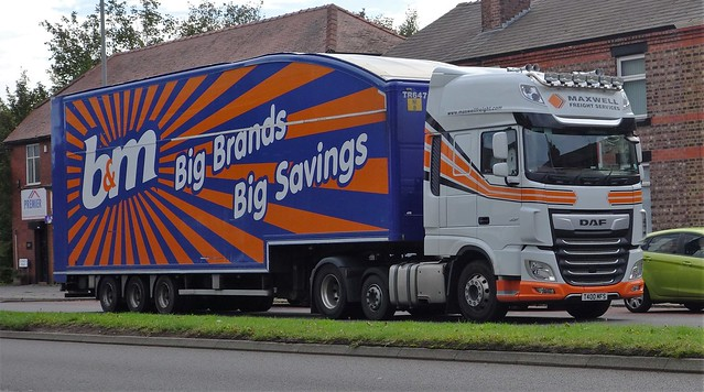 Maxwell Freight Services DAF XF105 T400 MFS