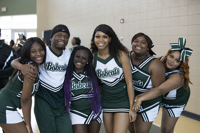 Bobcat Cheerleaders