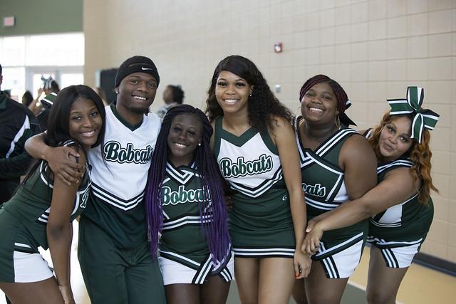 Bobcat Cheerleaders