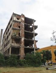 Désastres et cicatrices de la guerre (1992-1995), Mostar, Herzégovine-Neretva, Bosnie-Herzégovine.