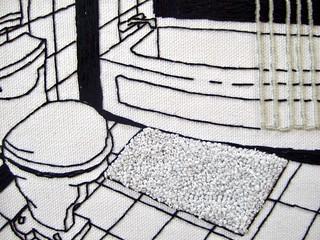 "Roy's Bathroom ""detail view"""