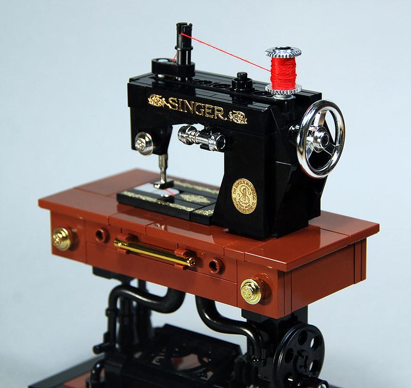 Singer 201K Sewing Machine - Lego Automaton