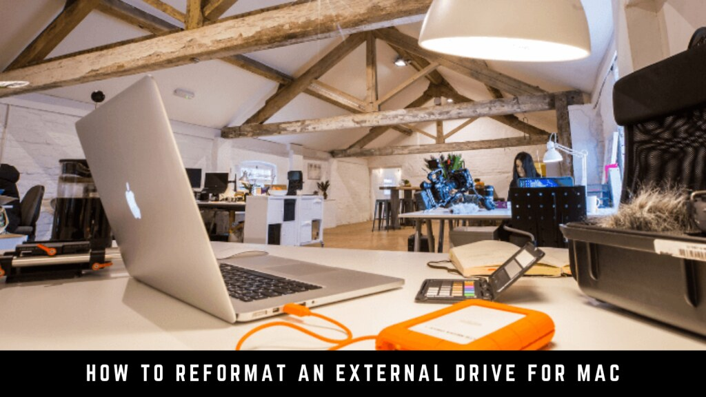 How to reformat an external drive for Mac