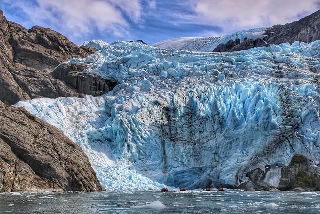 Condor Glacier, Alberto de Agostini National Park, Tierra del Fuego, Chile