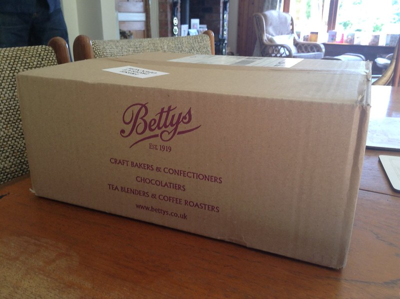 Belated Birthday Betty's Box!