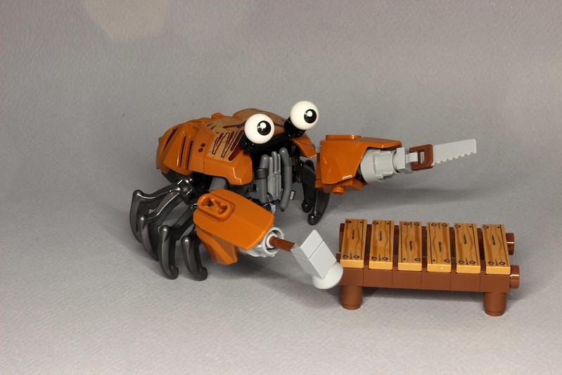 Curt the Carpenter Crab