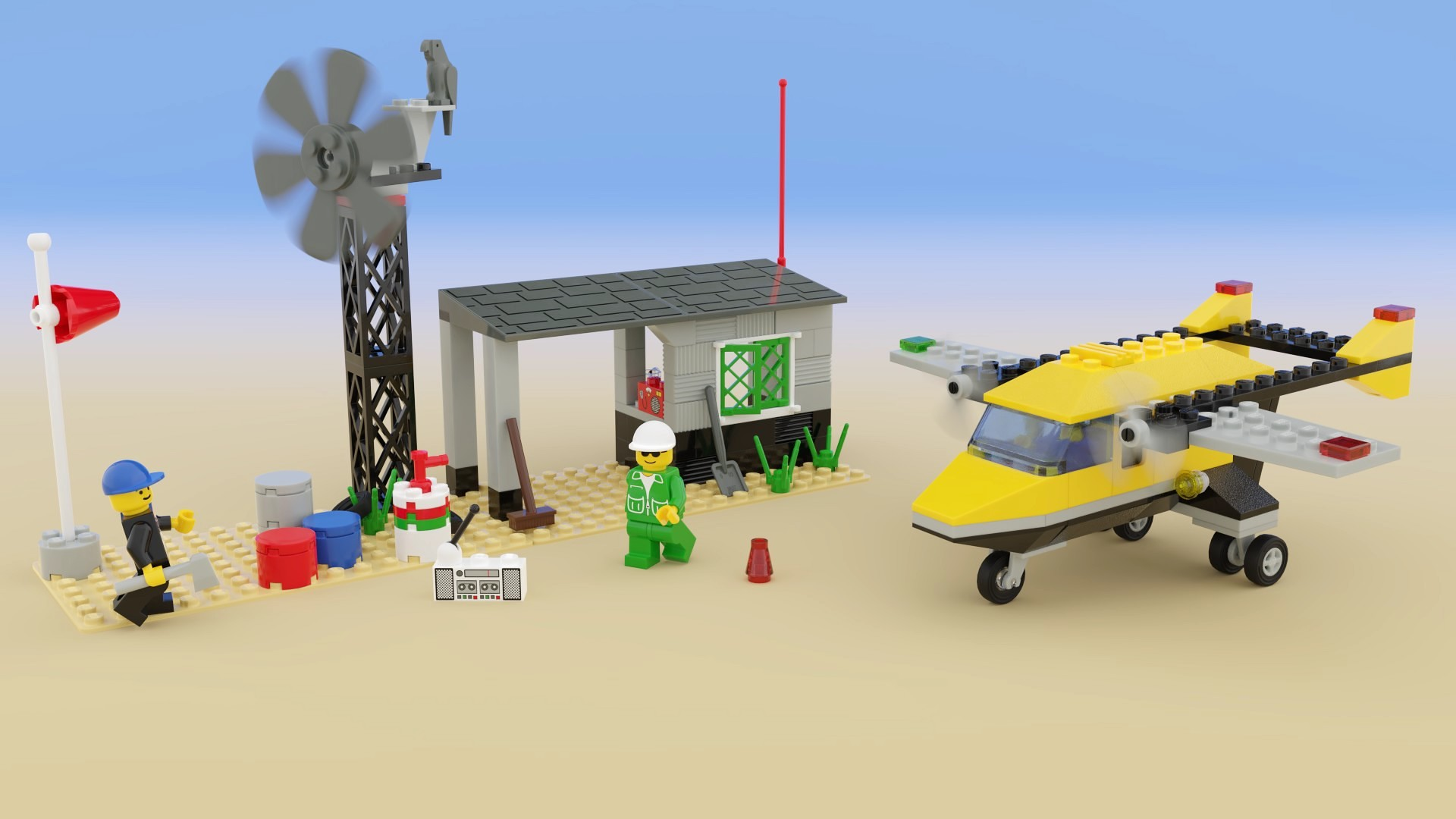 Planes, LEGO and Motion, What Could Be More Fun?