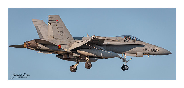 Spain - Air Force McDonnell Douglas EF-18A(M) (C.15-21/ 15-08)