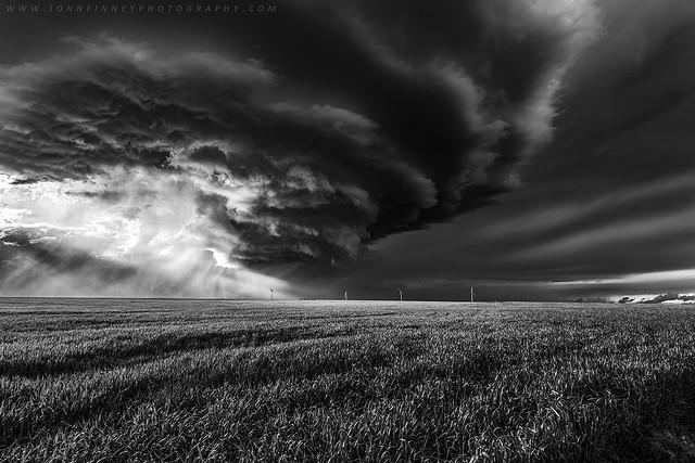 Sunlight through a storm