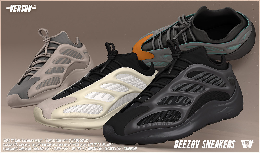 [ Versov //​ ] GEEZOV UNISEX SNEAKERS available at TMD