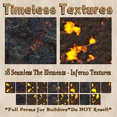 TT 18 Seamless The Elements - Inferno Timeless Textures