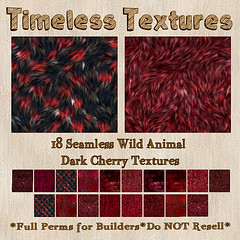 TT 18 Seamless Wild Animal Dark Cherry Timeless Textures