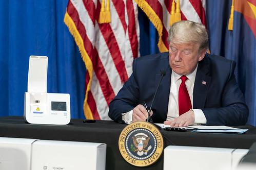 President Trump Visits Honeywell International Inc.