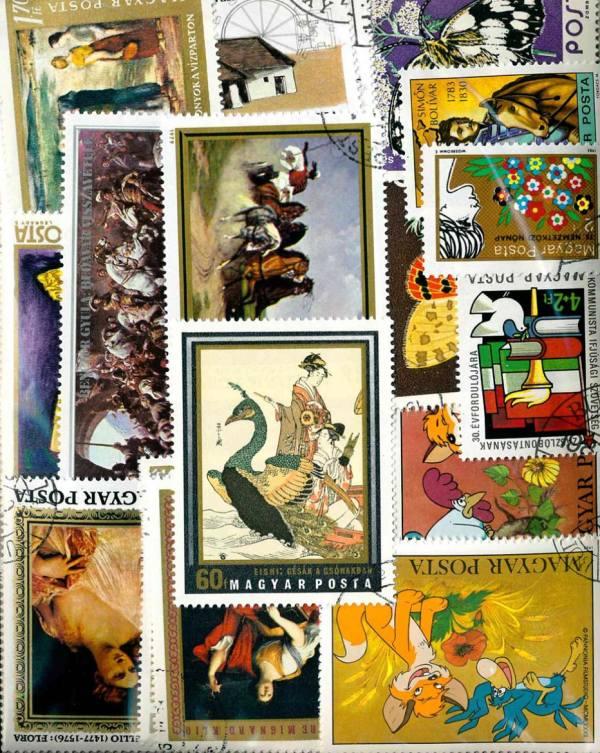 Známky Maďarsko balíček 389 ks rôznych