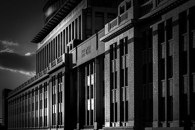 Kobe Customs Building (神戸税関南面)